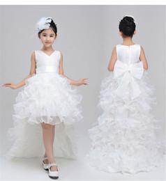 $enCountryForm.capitalKeyWord Canada - Children Clothing Girl Kids Clothes Lace Flower Girls Dress For Wedding Events Party Baby Girl Birthday Dress Frocks Ceremonies
