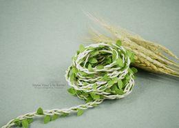 $enCountryForm.capitalKeyWord Canada - 10 Meters Natural Twine String with Leaf DIY craft supplies burlap wedding decoration wedding centerpieces rustic wedding decor