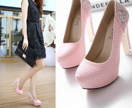 Pink Glitter Sequin Shoes Women Canada - New Arrival Hot Sale Specials Sweet Good Quality Leather Noble Show Super Sequins Scale Nightclub Stiletto Heel Single Shoes EU34-39