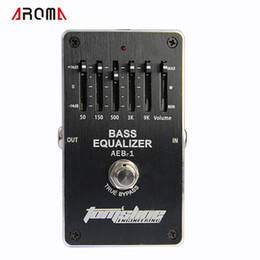 Bass guitar effects online shopping - Aroma AEB Bass band EQ Exclusive for electric bass new guitar effects