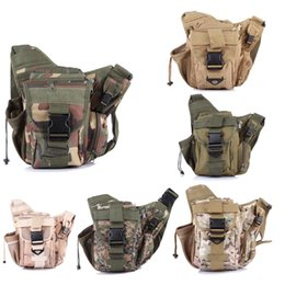 military cameras 2019 - Waterproof Oxford Men's Military Tactical Bags Pack Molle Tactical Shoulder Strap Bag Pouch Travel Backpack Camera