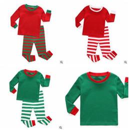 8 photos striped christmas pajamas wholesale uk christmas pajamas outfits kids long sleeve cotton solid striped christmas - Wholesale Christmas Pajamas