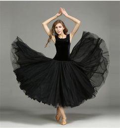 $enCountryForm.capitalKeyWord Canada - Women Dance Dress Standard Ballroom Competition Dresses Costumes For Women Big Swing Tango Waltz Dancewear 2017 Modern Dance Dress FN157