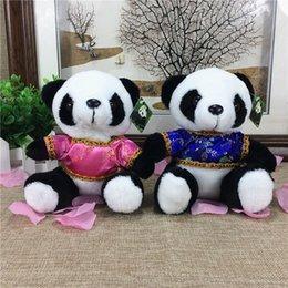 Ingrosso Il panda del tesoro del panda del costume della bambola creativa creativa del giocattolo della bambola della bambola della peluche del panda sveglio