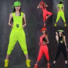 $enCountryForm.capitalKeyWord Canada - New fashion Hip Hop Dance Costume performance wear European loose leopard harem jazz jumpsuit sports one piece Pants