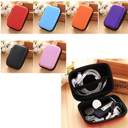 $enCountryForm.capitalKeyWord Canada - 6 Color Zipper Electronic Products Storage Case, EVA Material Earphone Bag Box, Protective Usb Cable Earbuds Organizer