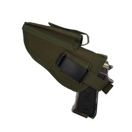 Gun holsters online shopping - High Quality gun holster Edc Right Left Interchangeable Tactical Pistol Hand Gun Holster Molle Pistol Holster Magazine Slot Holder
