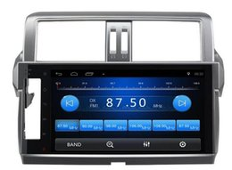 Venta al por mayor de Envío Gratis Android 6.0 10.1 pulgadas Coche Dvd Gps para Toyota Prado 2014 4-Core Volante control wifi apoyo dvr 3g