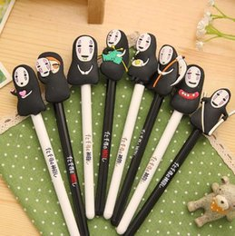 $enCountryForm.capitalKeyWord Canada - Spirited Away action figure toys No Face Man 8 different expressions model pens for children students boys girls gift