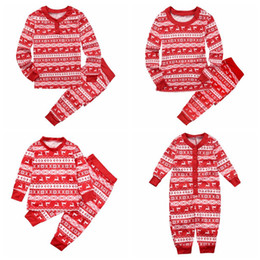Family Christmas Pajamas Family Matching Clothes clothing Mother Daughter  2016 Fashion Father Son Mon New Year Family Look Sets 2d669d8bc