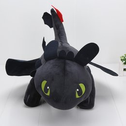 $enCountryForm.capitalKeyWord Canada - 55cm Night Fury Plush Toy How To Train Your Dragon 2 Toothless Dragon Stuffed Animal Dolls