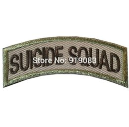 EmbroidEriEd patchEs online shopping - Suicide Squad Joker Harley Quinn Batman patch VRLCR On Badge TV Movie Series cosplay Embroideried Halloween Costume