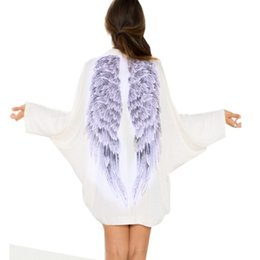 Printed Winged Kimono Cardigan Australia | New Featured Printed ...