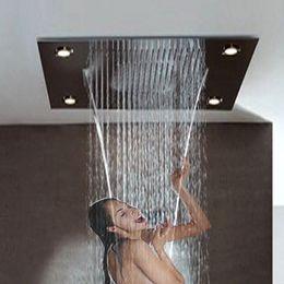 "$enCountryForm.capitalKeyWord NZ - Large Rain Shower 24x31"" Bathroom Ceiling Electric Led Multi Color Remote Control ShowerHeads Rainfall Curtain Waterfall Shower"