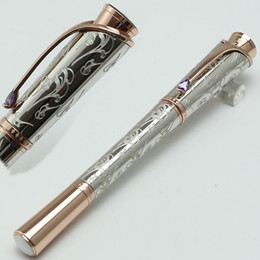 Chinese  Luxury Princesse Grace de Pattern Engraved roller ball Pen School Office Stationery MB brand pens Gift manufacturers