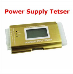 $enCountryForm.capitalKeyWord Australia - Factory price ! Multifunctional Digital LCD Power Supply Tester PC atx Power Supply Tester 20 24 pin SATA HDD ATX BTX Computer Checker