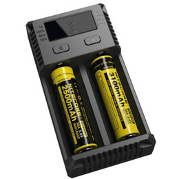 Lcd i4 online shopping - 100 Original Authentic Nitecore I2 I4 D2 D4 Universal Intelli charger LCD Display battery Charger