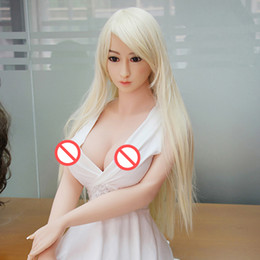 Silicone Love Dolls Oral Anal Vagina Canada - High Grade 158 cm japanese full body realistic sex doll with metal skeleton for man ,sex doll for Vagina Oral Anal sex love