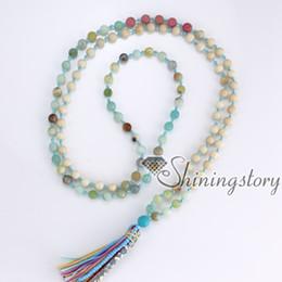 $enCountryForm.capitalKeyWord Canada - 108 meditation beads tibetan hindu prayer mantra beads yoga mala beads necklace with tassel wholesale spiritual jewelry buddhist rosary