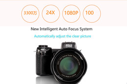 auto shoot NZ - 2017 New PROTAX POLO D7100 digital camera 33MP FULL HD1080P 24X optical zoom Auto Focus Professional Camcorder