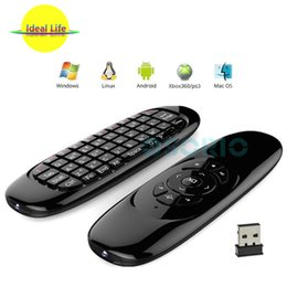 $enCountryForm.capitalKeyWord NZ - C120 Gyro Fly Air Mouse Wireless QWERTY Mini Keyboard Remote Control For Android Smart TV Box Mini PC Motion Sensing Game Controller