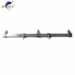China Wholesale- 30cm and 50cm Carp Fishing Buzz Bar rod rest Fishing Rod Holder for 3 bite alarms cheap bit bar suppliers