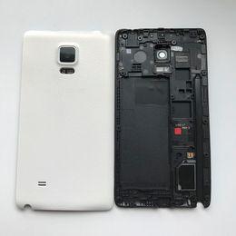 $enCountryForm.capitalKeyWord NZ - NEW Full Housing Back Battery Door Cover For Samsung Galaxy Note Edge N9150 N915 Black White