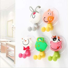 $enCountryForm.capitalKeyWord Canada - 2017 Children toothbrush rack Toothbrush Holder Cartoon Strong Suction Cup Bathroom Racks Sucker Wall Cute Shelf for Creative Hook