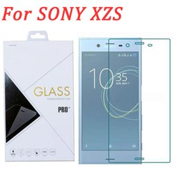 Screen protector anti glare xperia online shopping - For sony xperia XZS Glass film H D mm full clear tempered glass screen protector