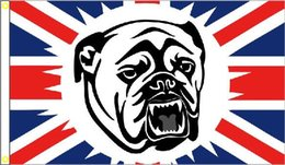 $enCountryForm.capitalKeyWord Canada - British Bulldogs Flag 90 x 150 cm Polyester Union Jack Great Britain GB Banner