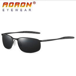 42eba13b79 2017 AORON Brand Fashion Designer Men Driving Polarized Sunglasses Goggles  Color Mirror Glasses Sports Eyewear With Original Box Accessories