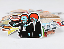 35pcs Set Ameriacn Drama Rick And Morty Funny Sticker Decal For Car Laptop  Bicycle Motorcylcle Notebook Waterproof Stickers