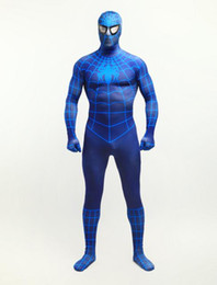 $enCountryForm.capitalKeyWord UK - DHL shipping Classic Dark blue color 3D printing and dyeing Spiderman Costume Spandex Lycra Unisex Halloween suit
