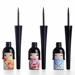 $enCountryForm.capitalKeyWord Canada - Wholesale- 2016 New Cute Doll Black Liquid Eyeliner Pen Waterproof Eye Liner Bottle Women Beauty Care Eye Makeup Cosmetic Tool FreeShipping