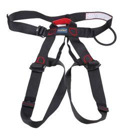 Профессиональный скалолазание Альпинистский пояс Спрингфилд Rappel Rescue Safety Belt Body Protect Outdoor Climbing Equipment