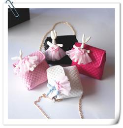 $enCountryForm.capitalKeyWord Canada - Korean Fashion mini Children Handbag Princess Sequin Bag Kids Cartoon Rabbit Shoulder bag for girls Kids PU Leather Handbags 4 colors