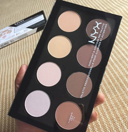 Discount faced cosmetics pro - NYX Highlight & Contour Pro Pattle Review Face Pressed Powder Foundation Grooming Shadow Powder Palette Makeup Cosmetic