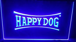 Wholesale neon dog signs for sale - Group buy happy dog beer bar pub club d signs led neon light sign home decor crafts