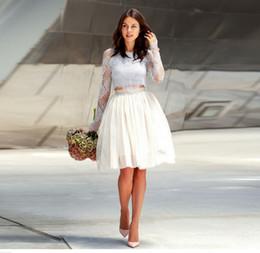Red White Blue Tutus Australia - Custom Made Tulle Skirt A Line Knee Length White Tutu Skirt Multi Layers With Lining Elegant Skirts For Women