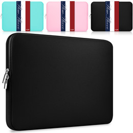 """Laptop mouw draagtas 13 """"11,6 12 14 15 15.6 16 inch voor Apple MacBook Air Pro HP Pavilion Lenovo Dell XPS Surface Acer Samsung Chromebook Soft Cover Beschermende Tas"""
