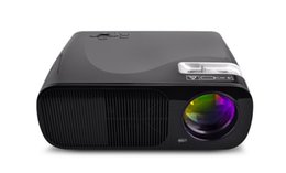 Discount mini computer projector - Wholesale-Home Theater LED 3000lumens 3D Projector Full HD 1080P Portable VGA Mini Computer USB HDMI Proyector Beamer Fo