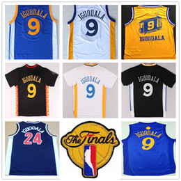 ec279c797b5 ... Christmas Day Jersey 2017 Finals Basketball 9 Andre Iguodala Jersey  Wholesale Cheap White Black Yellow Blue 24 Andre Iguodala ...