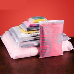 Flattering Clothes Canada - storage bag plastic zipper bag zip lock portable travel pouch home storage organizati pocket clothes storage container LZ0422