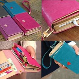 $enCountryForm.capitalKeyWord Canada - Wholesale- Envelope Bag Lady Handbag Wallet Shield Cell Phone Case Cover For Samsung Galaxy S3 i9300 4 Colors BS88