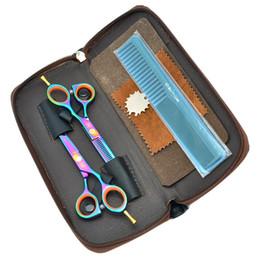 Barber Thinning Shears Australia - 5.5Inch Meisha New Arrival Professional Hair Scissors Set Barber Scissors Hair Cutting Thinning Shears JP440C Barber Hair Salon, HA0013