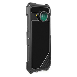 waterproof samsung camera case Australia - For Samsung S8 Phone Case Screen Protector Shockproof Waterproof Dust proof High Impact Aluminum Alloy Case With 3 Separated Camera Lens Kit