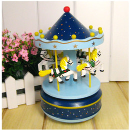 $enCountryForm.capitalKeyWord Canada - Dream princess carousel music box wooden box Girl Christmas holiday crisp