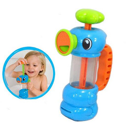 $enCountryForm.capitalKeyWord Canada - 3pcs lot New Funny Baby Water Toys Hippocampus Style Bath Toys Pool Spraying Tool For Children Bathroom Games Kids Shower Water Toys