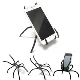 Wholesale universal spider phone holder for sale - Group buy Universal Spider Mobile Phone Holder For Iphone Plus Stent For Samsung S6 Edge S5 Car Holder Stand Support Cell Phone Holder