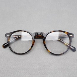 2018 round prescription eyeglass frames 2017 brand designer oliver peoples women eyeglasses frame optical round ov5186 - Discount Eyeglass Frames